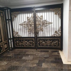double wrought iron gate uk