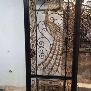 single wrought iron gate